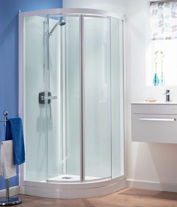 Kineprime Glass Self Contained Shower Cubicle Kinedo